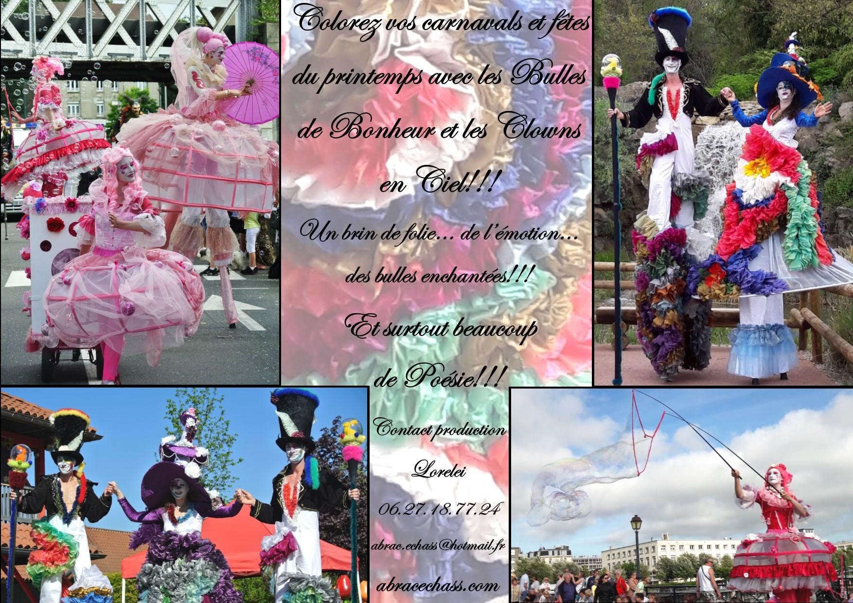 Carnavals et fêtes du printemps
